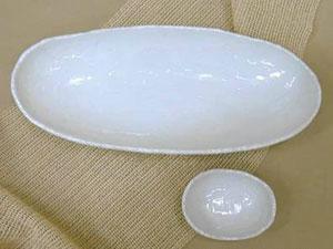 ミセス恵子の食卓提案/第1回「楕円皿」